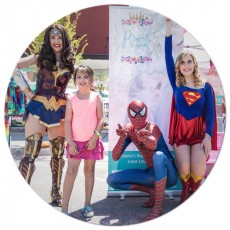 Have your Favorite Princess or Superhero at your Birthday Party!