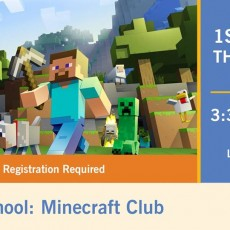 Things to do in Buckeye-Goodyear, AZ for Kids: After School: Minecraft Club, Litchfield Park Library