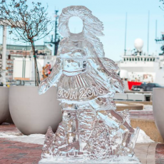 New Year's Eve FREE Ice Sculpture Stroll