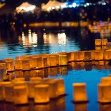 Things to do in San Diego East County, CA for Kids: 1000 Lights Water Lantern Festival, Santee Lakes