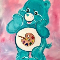 Things to do in Palm Beach Gardens, FL for Kids: Art for all Ages - Make A Wish - Colorful Dandelions, Uptown Art : Jupiter