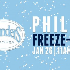 Things to do in Eastern Main Line, PA for Kids: Founders Philly Freeze-Out, Manayunk.com