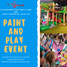 Things to do in Peoria, AZ: Paint & Play