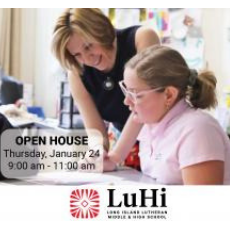 Things to do in Town of Hempstead, NY for Kids: LuHi's Beyond Boundaries Open House, Long Island Lutheran Middle & High School