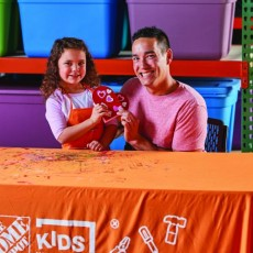 Things to do in Richmond South, VA for Kids: Kids Workshop - Heart Candy Box, The Home Depot