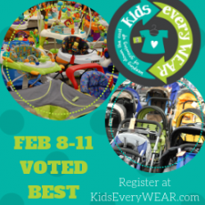 Things to do in Apex-Cary, NC for Kids: Kids EveryWEAR Consignment Sale, Kids EveryWear Consignment Sale