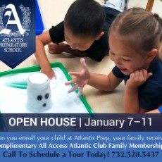 Things to do in Southern Monmouth, NJ: Atlantis Prep Open House