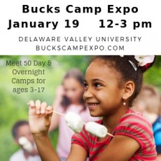 Doylestown-Horsham, PA Events for Kids: Bucks County Camp Expo 2019