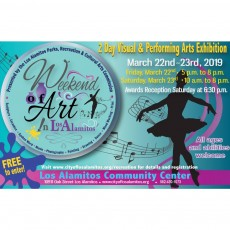Things to do in Huntington Beach-Seal Beach, CA for Kids: City of Los Alamitos Weekend of Art  March 22nd-23rd , Los Alamitos Recreation
