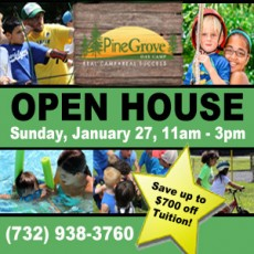 Southern Monmouth, NJ Events for Kids: Pine Grove Day Camp Open House