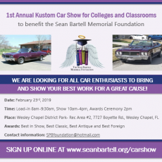 Kustom Car Show for Colleges & Classrooms