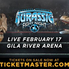 Things to do in Peoria, AZ for Kids: Jurassic Fight Night, Gila River Arena