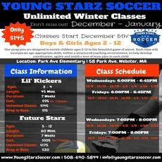 Worcester, MA Events: Winter Soccer - Lil Kickers